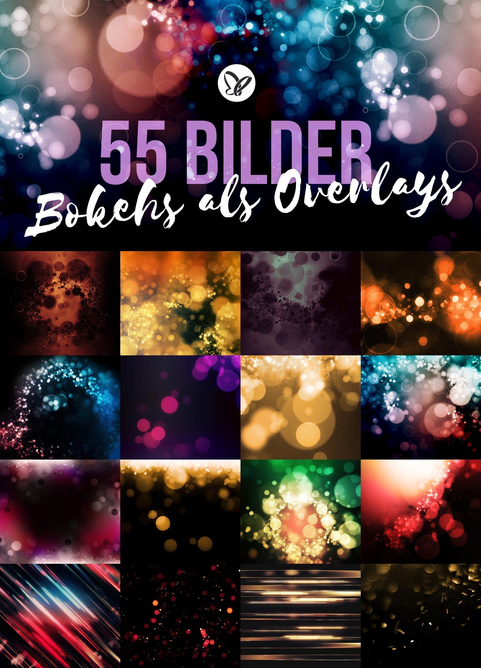 Überblick über die 55 Bokeh-Overlays