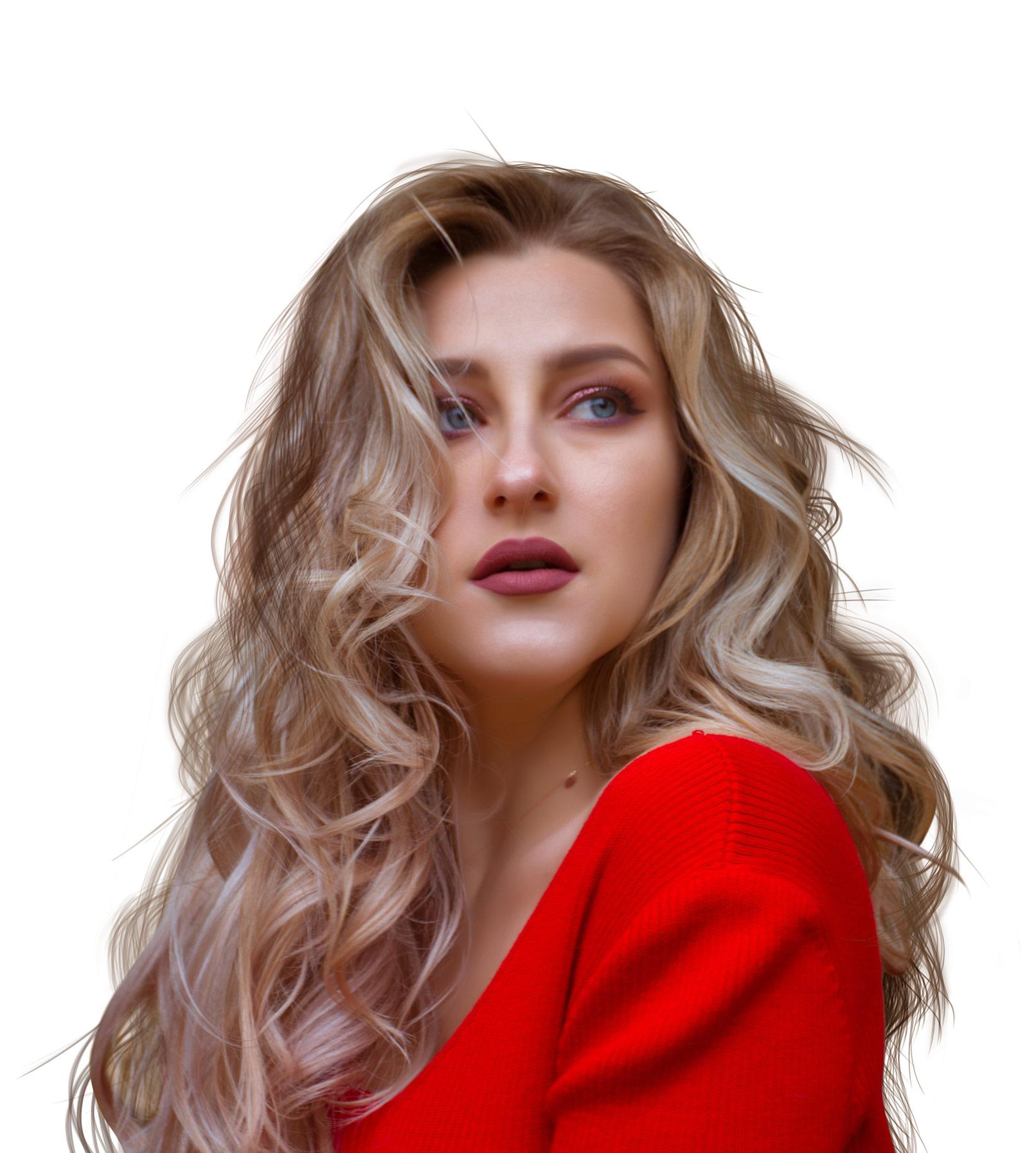 Haare zeichnen – 100 Pinsel für Photoshop, Affinity Photo & Co