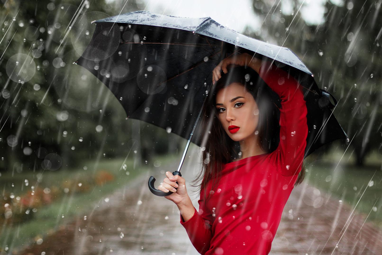 Donnerwetter! Regen-Bilder als Overlays für deine Fotos und Composings