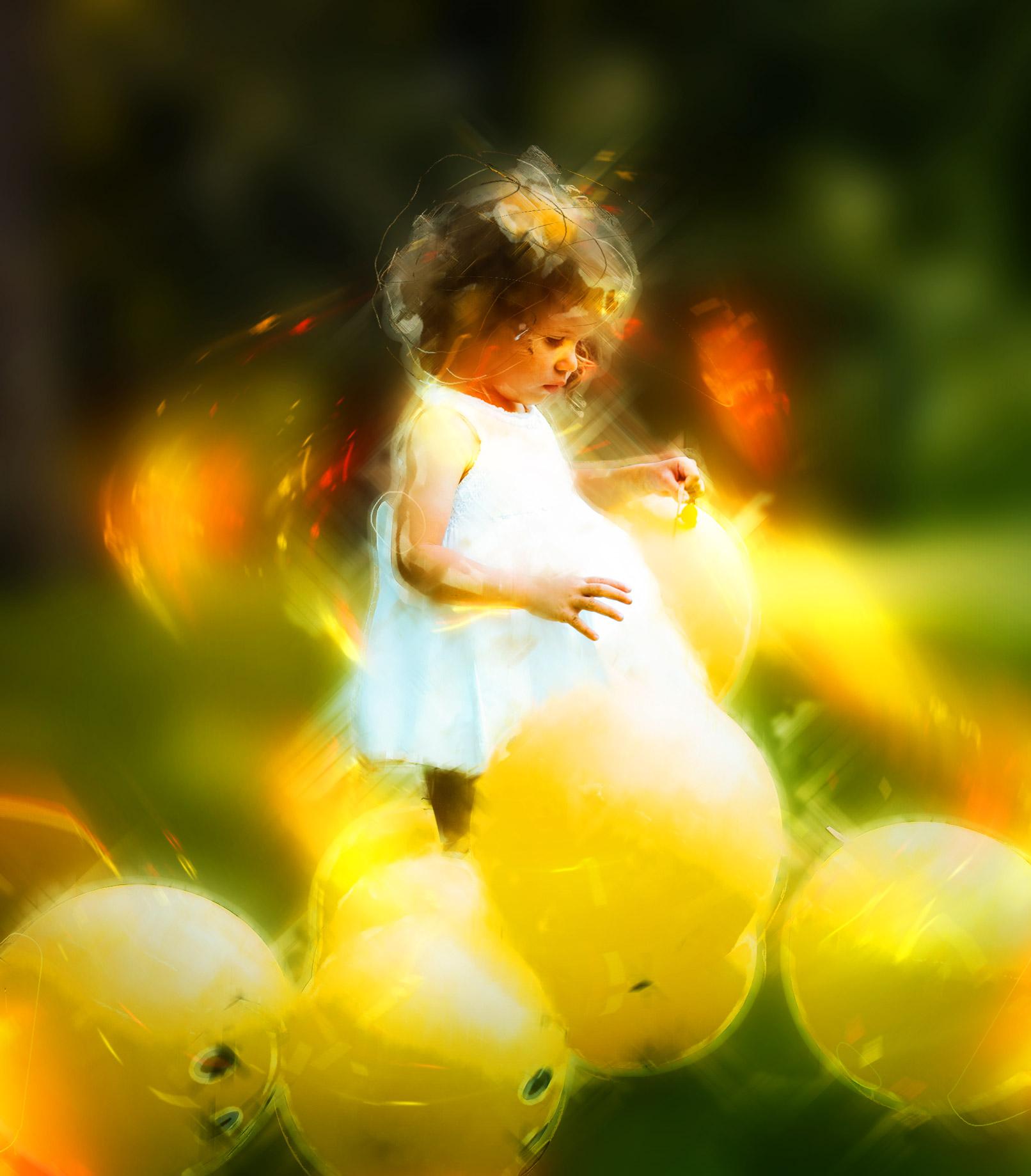 """Photoshop-Aktion """"Neonglühen"""": schimmernde Lichtreflexe für deine Fotos"""