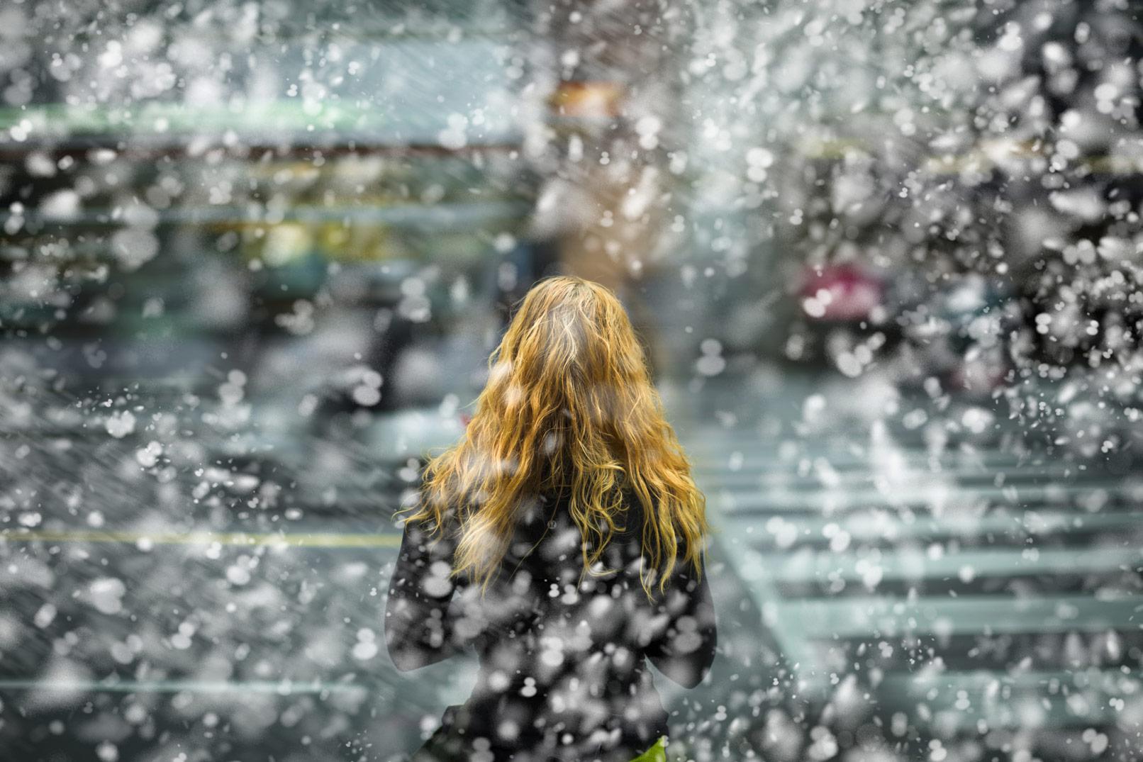 50 Photoshop-Pinsel für Schneeflocken und Regen