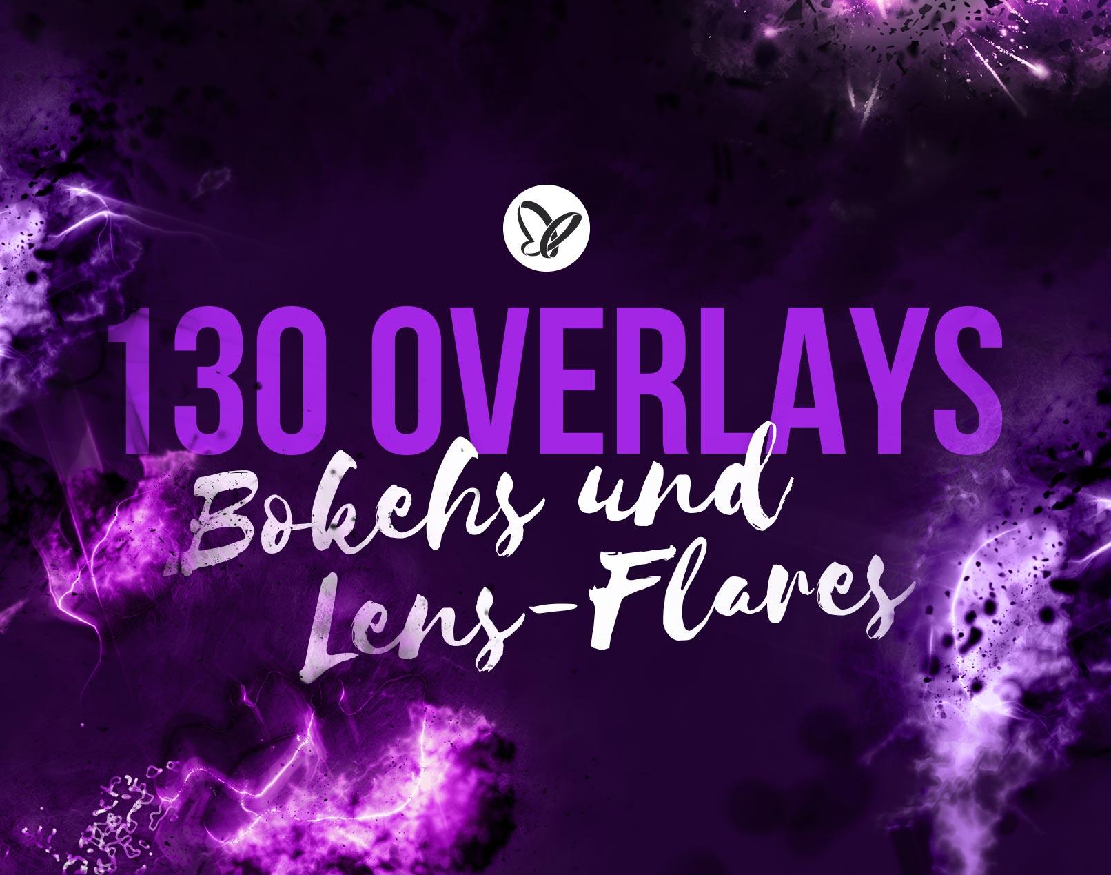 130 Overlays für Explosions-, Bokeh- und Blitz-Effekte