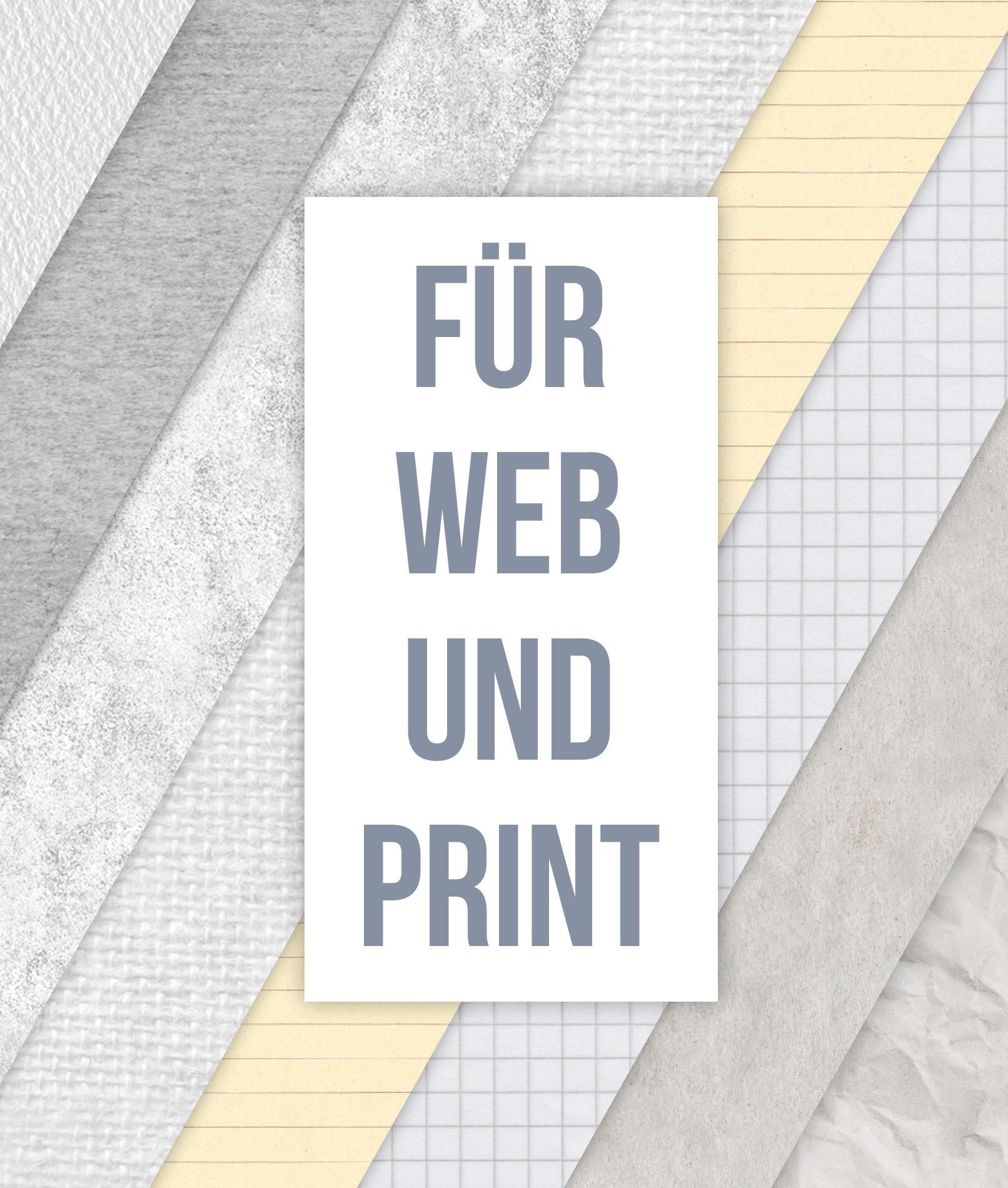 Beispiele für die Papierstrukturen als Muster für Photoshop