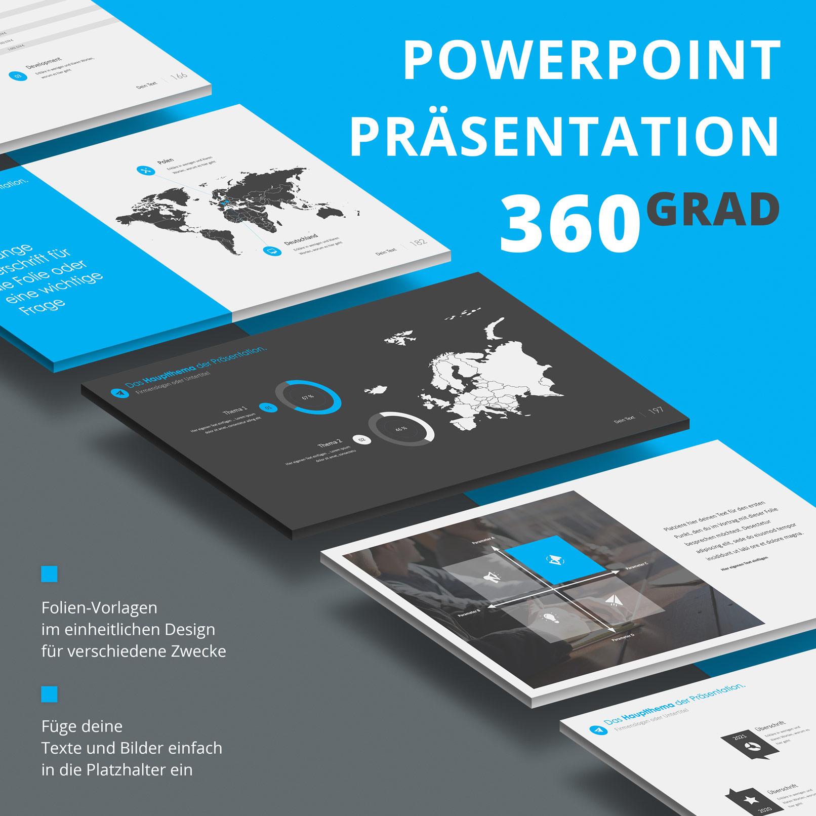 PowerPoint-Vorlagen für Business-Präsentationen: Beispiel-Folien