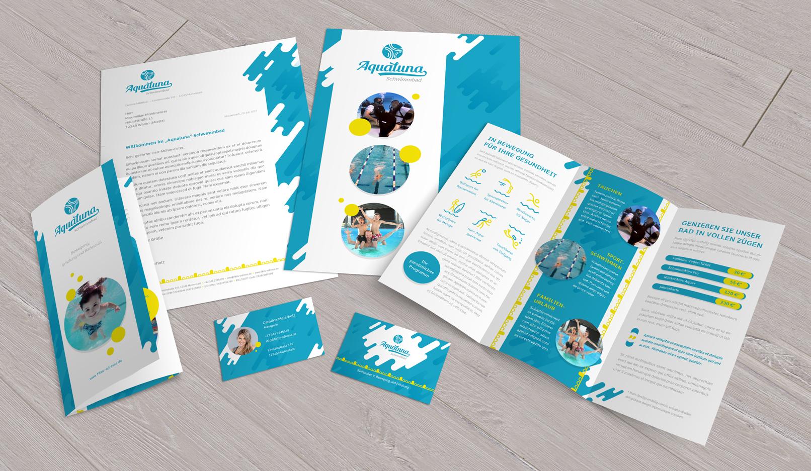 Vorlagen Für Sport Fitnessstudio Flyer Visitenkarten Powerpoint
