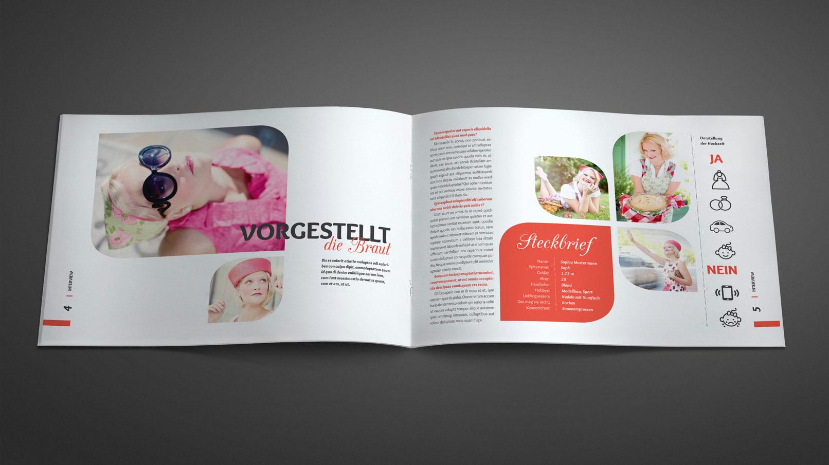hochzeitszeitung einladung tischkarten und fotoalbum f r. Black Bedroom Furniture Sets. Home Design Ideas