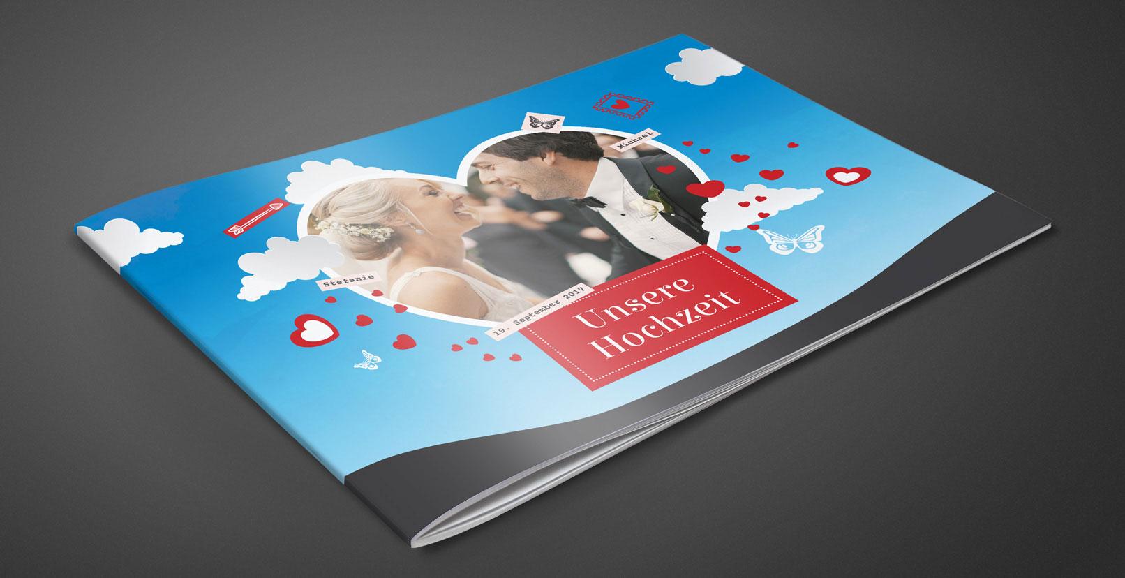 Vorlage für Hochzeitsfotoalbum